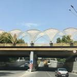 Ahmadi Donish Street in Dushanbe