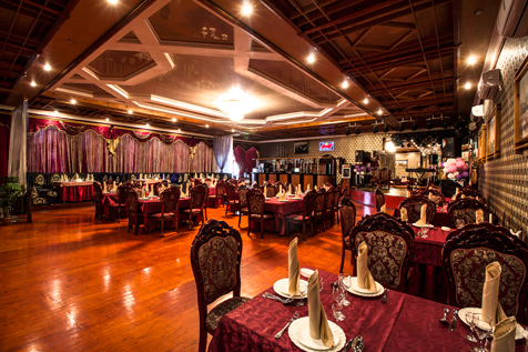 зал ресторана шахрисабз