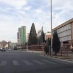 Улица Фотеха Ниёзи в Душанбе