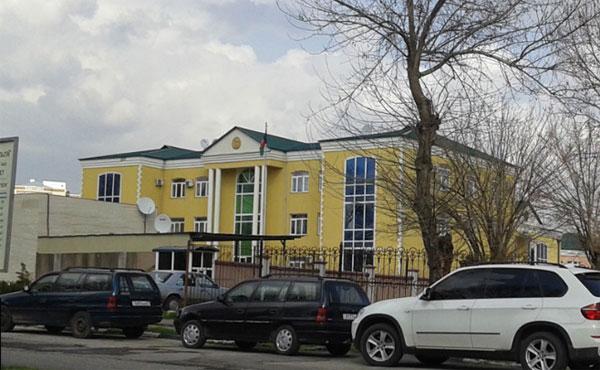 Здание Посольсва Афганистана в Душанбе