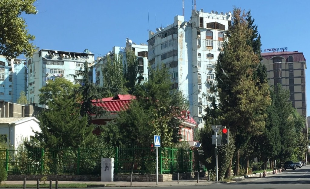 Здание прокуратуры Душанбе