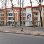 Школа 54 в городе Душанбе
