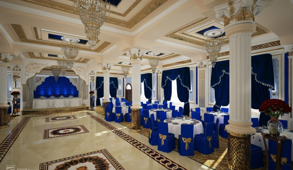 "Photo of the banquet hall of the restaurant ""Yakkachinor"""