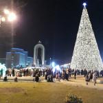 Ёлка новогодняя в г Душанбе — фото и видео
