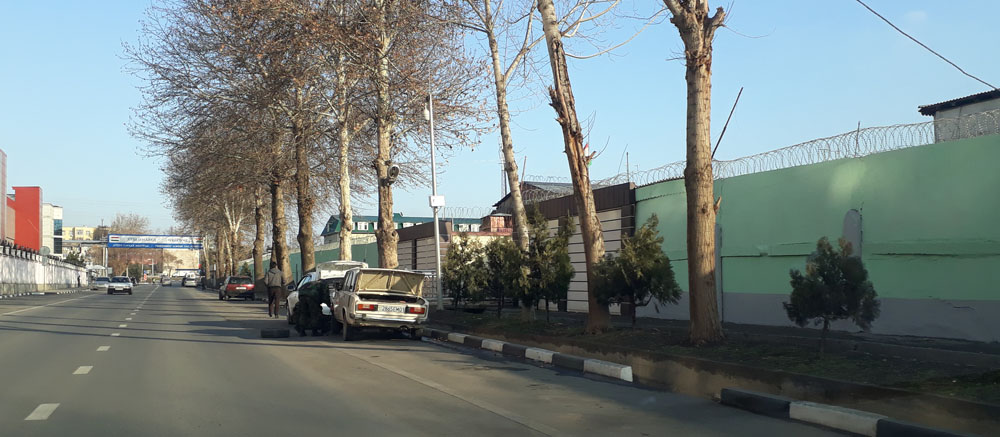 Тюрма 1-е советская Душанбе