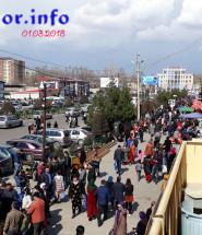 Рынок корвон в Душанбе