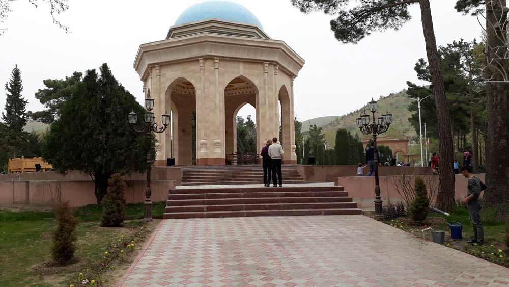 Photo of S. Ayni's Mausoleum