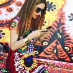 Стиль таджикской одежды для женщин
