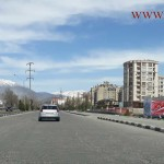 Hofiz Sherozi Avenue in Dushanbe
