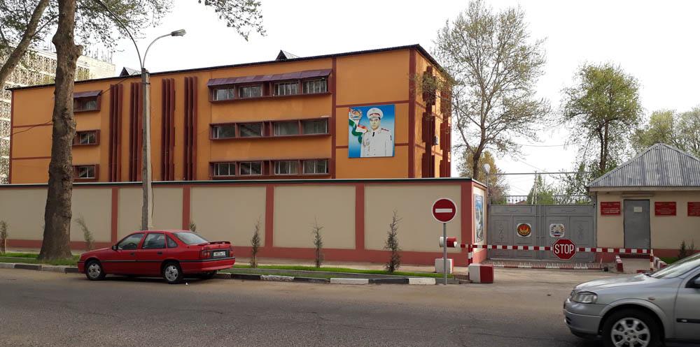 Воэнкомат РРП и Душанбе