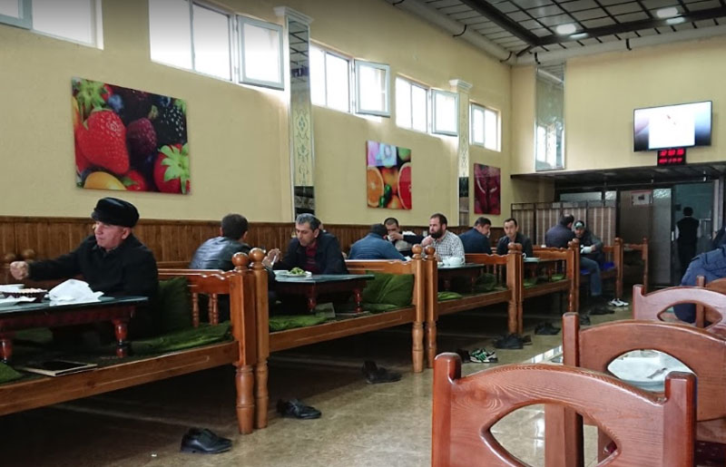 Чойхонаи мино дар Душанбе