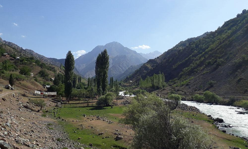 Karataq river