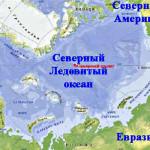 Северный Ледовитый океан — течения и карта