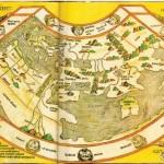 Земля на карте и глобусе