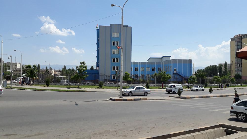 Поликлиника №14 города Душанбе