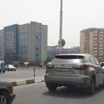 Улица Алишер Навои в г. Душанбе