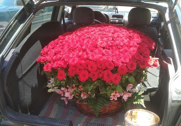 Доставка роз по Душанбе