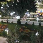 Парк имени Фирдавси в г Душанбе