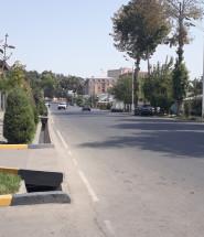Улица Нисор Мухаммад в Душанбе