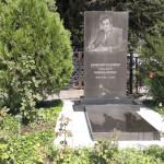 Русское кладбище в городе Душанбе