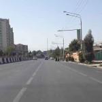 Улица Айни в городе Душанбе