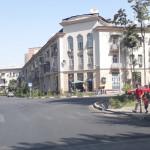 Улица Хусейнзаде в городе Душанбе