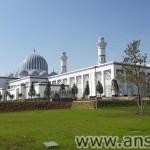 Мечеть города Душанбе на фото