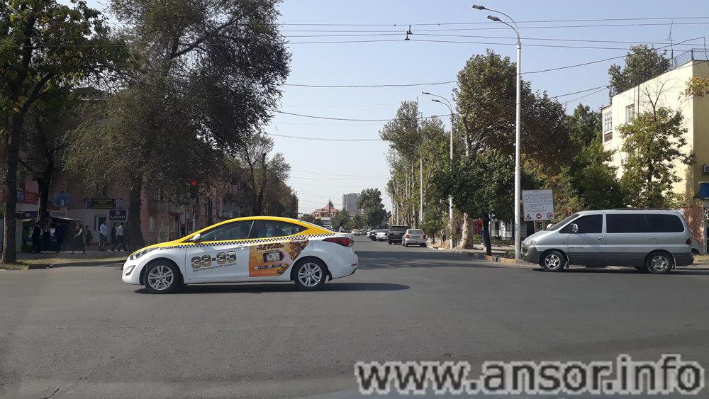 Фото улицы Мушфики в Душанбе