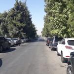 Улица Шотаруставели в г. Душанбе