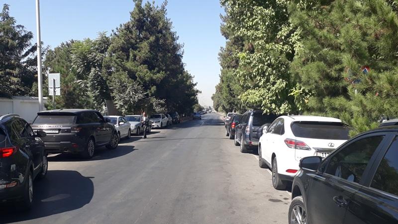 улица Шотаруставели города Душанбе