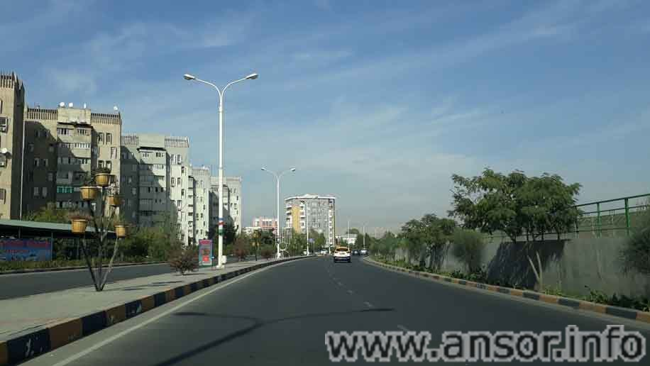 Улица сохили кучаи Душанбе