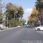 Улица Низома Ганджави (Ломоносова) в Душанбе