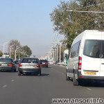 Маршрут №2 в Душанбе