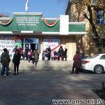 Школа №100 в городе Душанбе