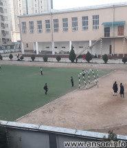 Фото стадиона Школы №8 в г Душанбе (Задняя часть школы)