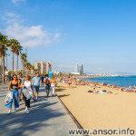 Барселона город и море