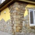 Фасадные камни в Душанбе — Таджикистан