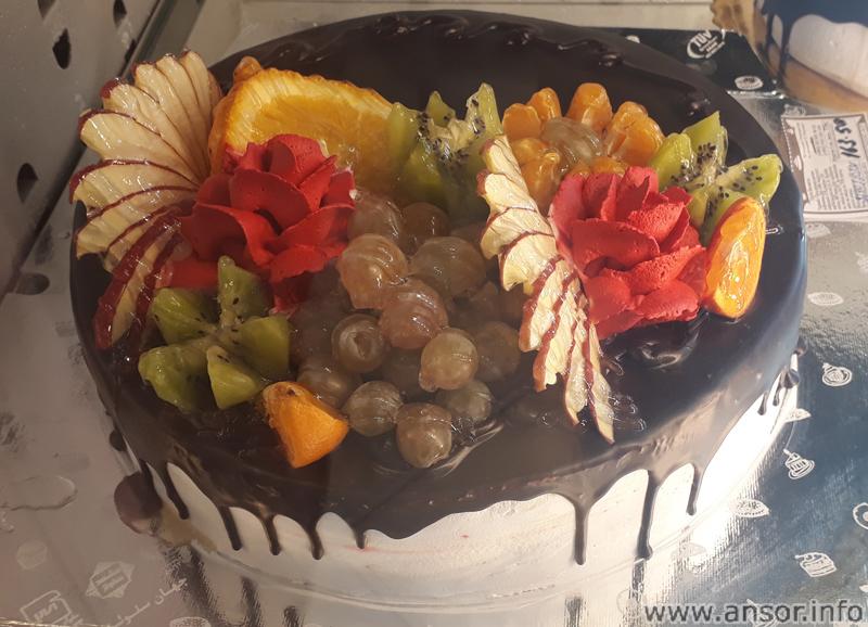 Фруктовый торт в Душанбе
