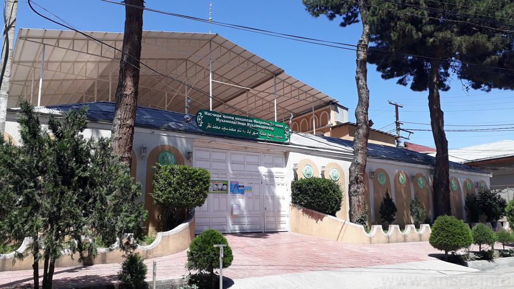 мечеть Каленина (Мехробод) в городе Душанбе - апрел 2020г