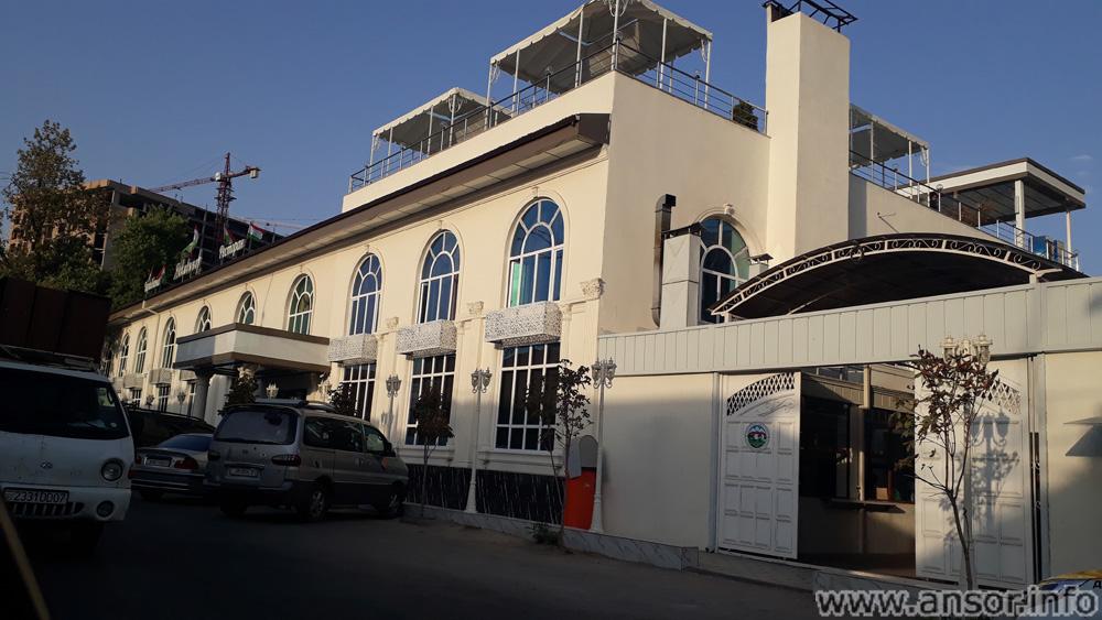 Здание ресторана яккачинор