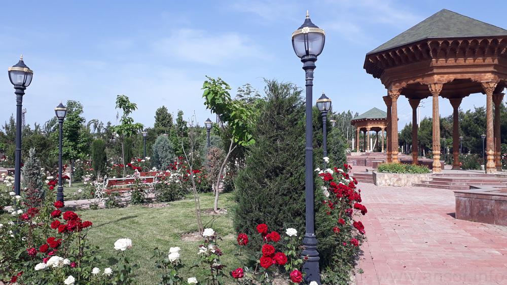 Сад из роз в Хурамшахре