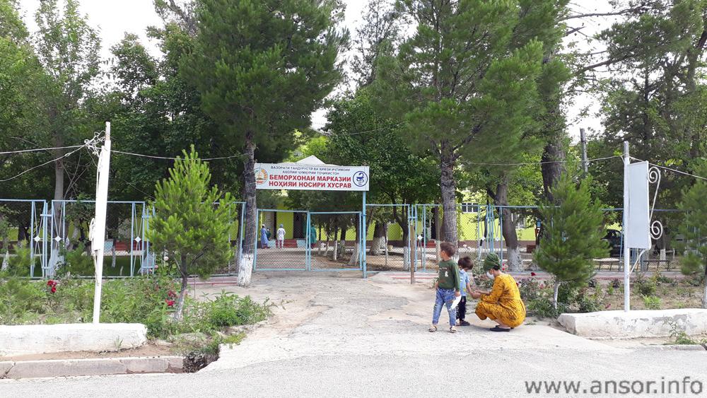 Больница в центре городка Бешкент (район н. Хусрав)