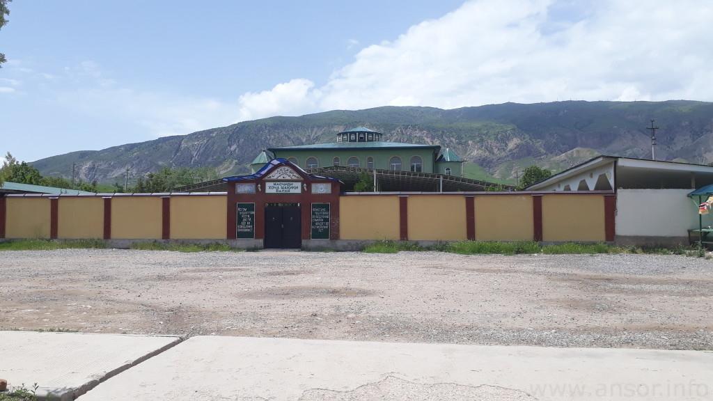 Масҷиди Шақиқи балхӣ дар ноҳияи Данғара (деҳаи Шақиқи Балхӣ)