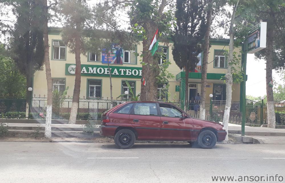 Филиали Амонатбанк