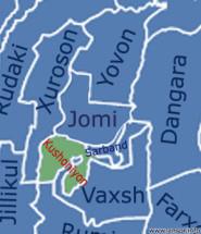 Карта кушониён бохтар харита