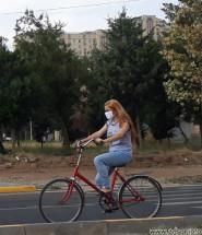 девушки на велосипеде таджикистан душанбе