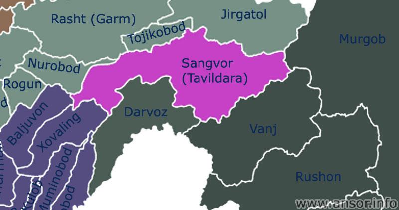 Карта Сангвор