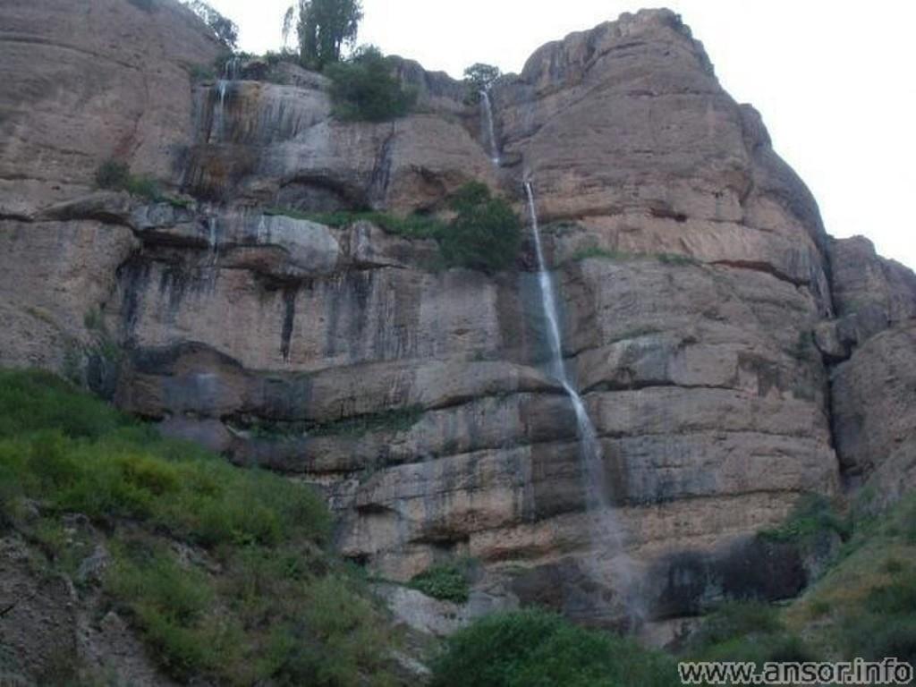 Водопады Тавилдары (шаршара
