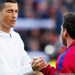 Two of the world's best players will meet – Ronaldo and Messi