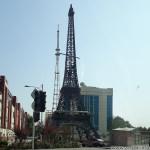 Эйфелева башня в городе Душанбе